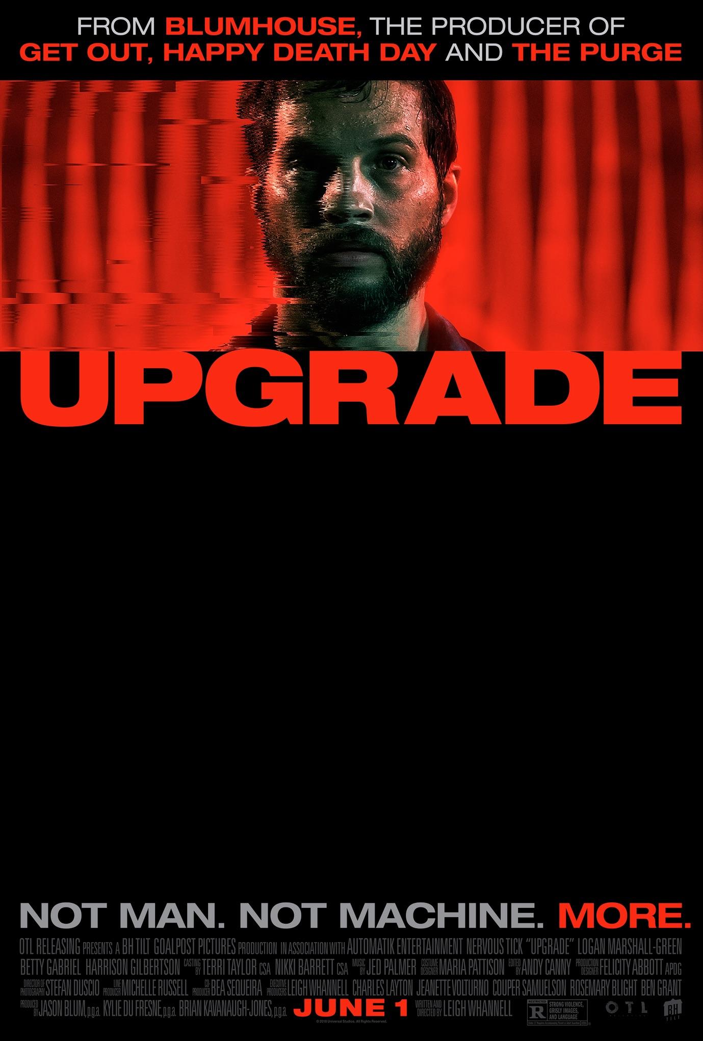 movie, upgrade, and 2018 image