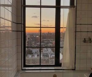 bathroom, beautiful, and beige image