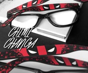 handpainted, marvel comics, and sunglasses & eyewear image