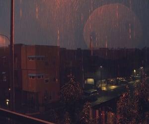 aesthetic, rain, and wallpaper image