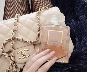 chanel, bag, and perfume image