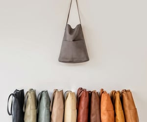 bags, colours, and fashion image