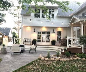 apartment, country living, and deck image