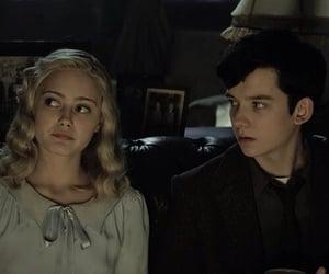 asa butterfield, ella purnell, and peculiar children image