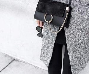 fashion, chloe bag, and coat image