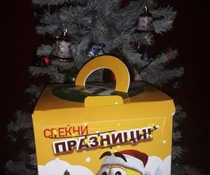 christmas, christmas tree, and gift image