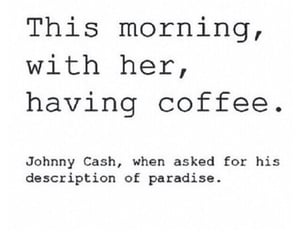 love, coffee, and paradise image