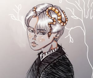 art, drawing, and fan art image
