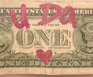 money, pink, and aesthetic image