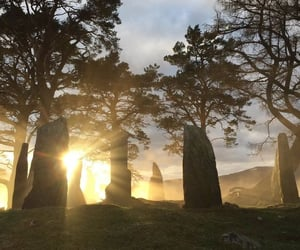 stone, sun, and outlander image
