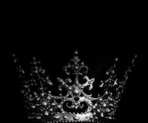 aesthetic, black, and crown image