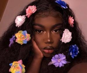beautiful, girl, and make up image