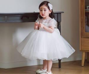 birthday dress, short dress, and tulle dress image