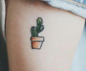tattoo and cactus image