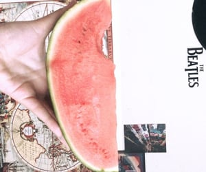 fruit, the beatles, and summervibes image