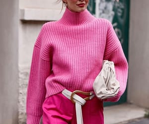 street style and pink fashion image