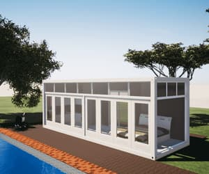 modular container house image