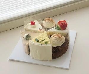 cake, dessert, and minimal image