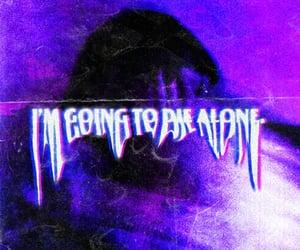 aesthetic, depressed, and purple image