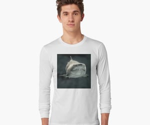 fish, ocean creatures, and jaws image