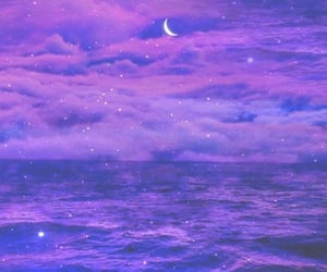 beach, dreamy, and galaxies image