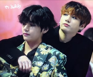 k pop, seokjin, and taehyung image