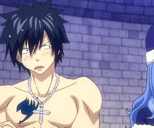 anime, fairy tail, and gray fullbuster image