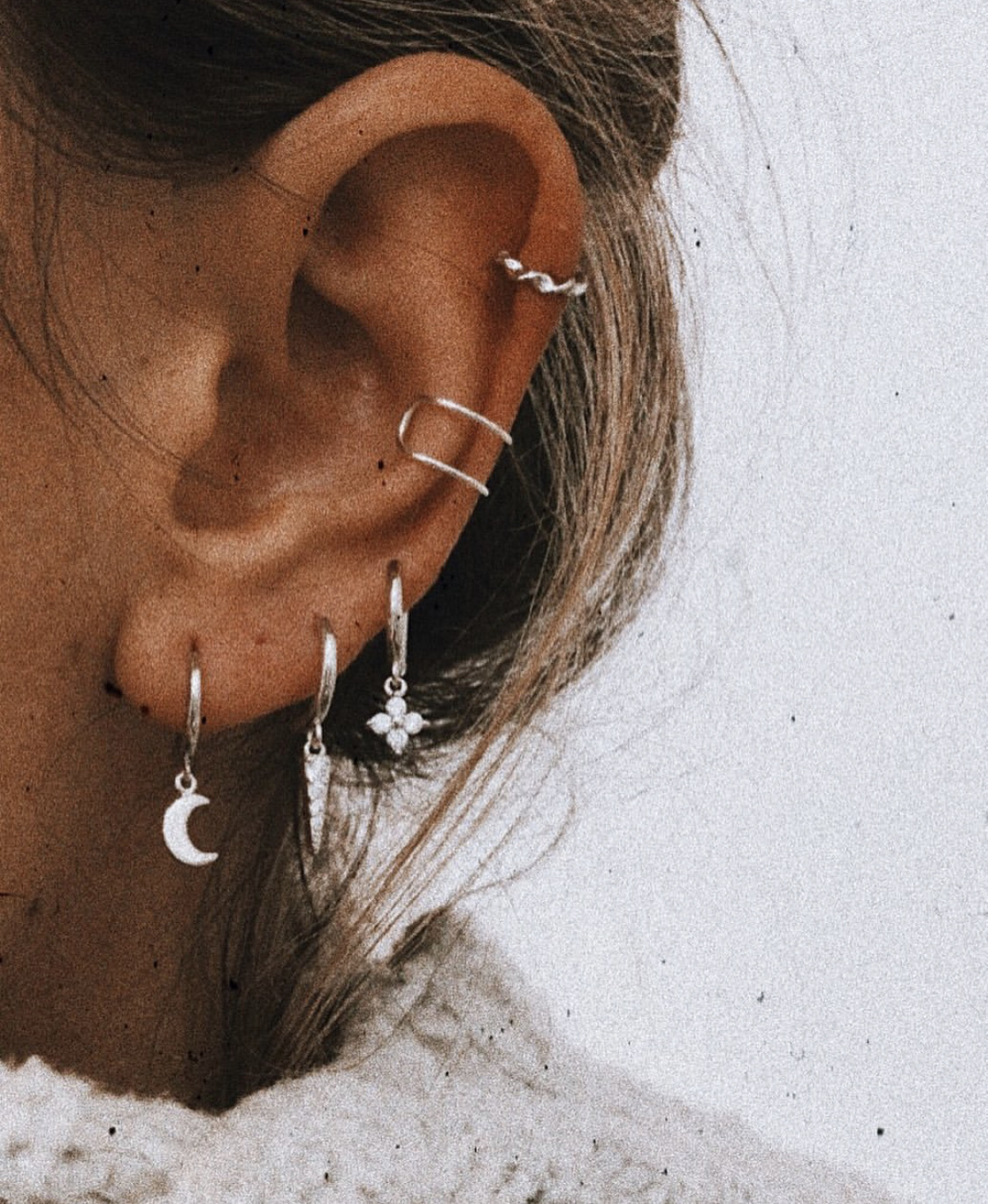 details, earings, and fashion image