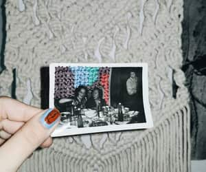 Collage, embroidery, and vintage image