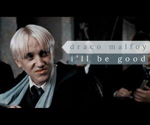 draco malfoy, tom felton, and harry potter image
