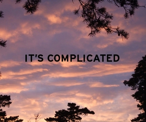 complicated and quote image