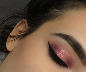inspo, messy, and eyeliner image