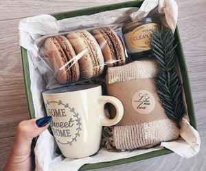 gift, box, and cup image