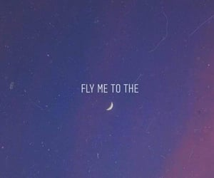 moon, quotes, and song image