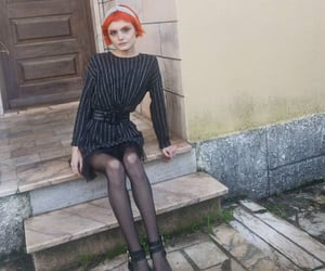 fashion, ginger, and outfitoftheday image