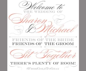 bride and groom, etsy, and wedding sign image