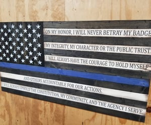 etsy, police officer gift, and policeflag image