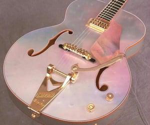 guitar and pink image