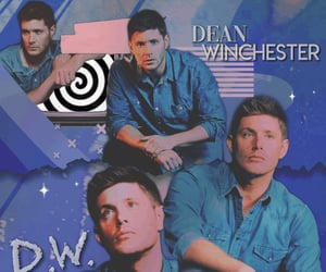 dean winchester, thecw, and spnedit image