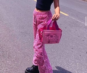 pink, outfit, and 2000s image