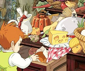 anime, delicious, and howl's moving castle image