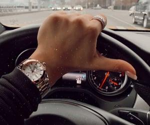 car, drive, and girl image