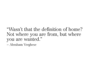 feeling, home, and quotes image
