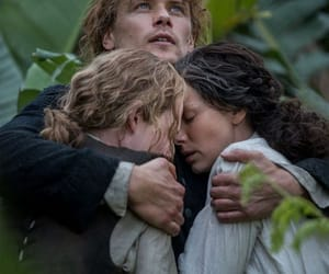 outlander, jamie fraser, and young ian image
