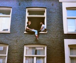 window, vintage, and grunge image