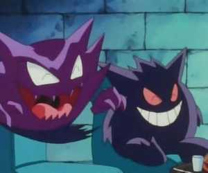 funny, gengar, and haunter image