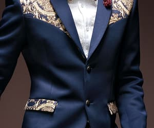 bow tie, filigree, and gold image
