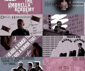 aesthetic, tv show, and the umbrella academy image