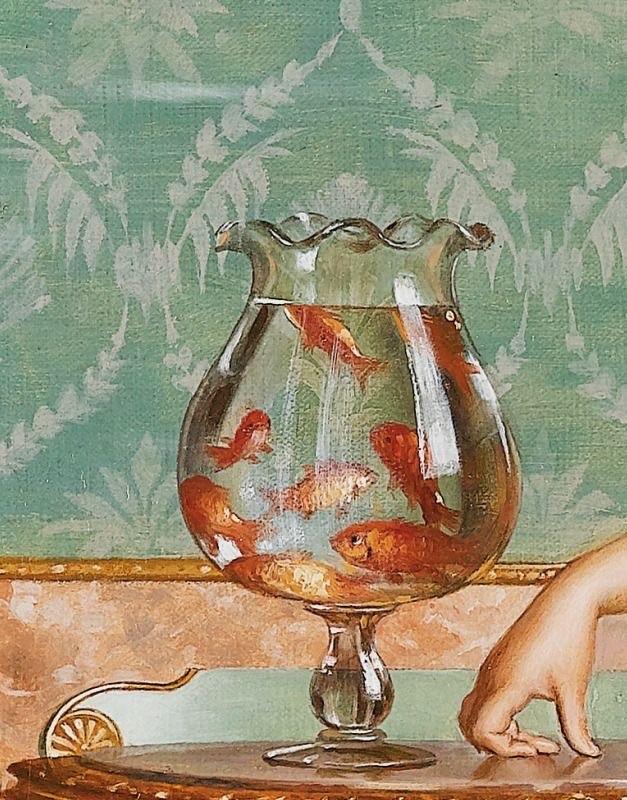 admiring the goldfish - vittorio reggianini on We Heart It