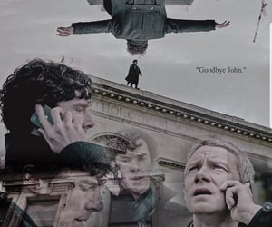 aesthetic, sherlock, and tv show image